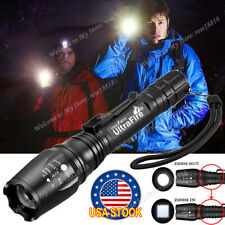 Focus Tactical 350000LM Zoomable LED  High Power Flashlight 186**50 Torch USA