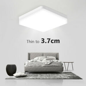 LED Ceiling Lamp Down Light Ultra Thin Flush Mount Bedroom For Home Lighting x1