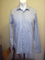 Lincoln Grey Long Sleeve Button Front Shirt - Size Medium - BNWT!!