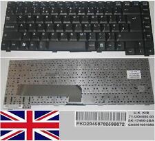 Teclado Qwerty UK FUJITSU Amilo A1667G A3667G M1439G 71-UD4086-00 SK-17400-2BA