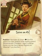 Legend of the Five Rings LCG - 1x #209 Spione am Hof - Base Set deutsch