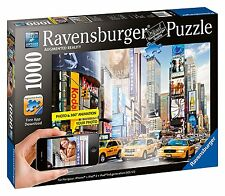 Ravensburger Colorful Activity at Times Square Augmented Reality Puzzle 1000 pcs