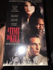 A Time to Kill VHS 1996 Sandra Bullock, Samuel L. Jackson, Mathew McConaughey