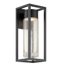 Modern Forms WS-W5416-BK Structure LED 16 inch Black Outdoor Wall Light