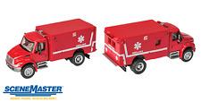 11931 Walthers SceneMaster International  4300 EMS Rescue Squad Ambulance HO