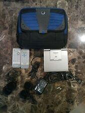 Panasonic DVD-LS5 Portable DVD/CD Player & case, plus remotes and headphones