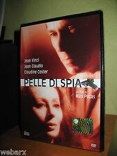 PELLE DI SPIA DVD NUOVO SIGILLATO MAX PECAS CLAUDINE COSTER