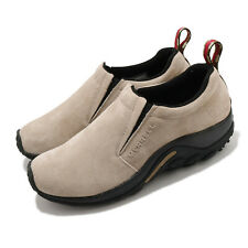 Merrell Jungle Moc Classic Taupe Black Men Slip On Casual Loafers Shoes J60801