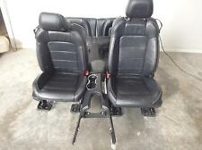 15-16 FORD MUSTANG FRONT BUCKET AND REAR SEATS BLACK LEATHER POWER HEAT/COOL