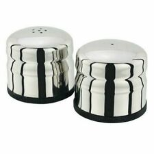 Judge 2-piece Silver Cruet Set Salt and Pepper Shakers TC163