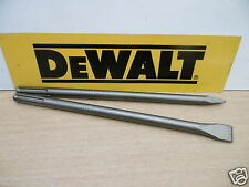 BRAND NEW GENUINE DEWALT 400MM SDS MAX CHISELS DT6821 POINT & DT6823 25MM CHISEL