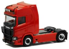 Herpa LKW Scania CR 20 HD SZM rot Lampenbügel/Rammschutz