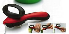 TUPPERWARE Ergonomic Safe Can Opener LEFT & RIGHT HANDED SEE MOVIE