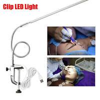Professionelle USB LED Schreibtischlampe Clip Tischlampen Maniküre Tattoo Licht