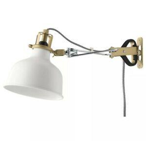 Ikea Ranarp Wall/Clamp Spotlight Off-White 202.313.25 New