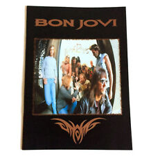 Bon Jovi 1995 Japan Tour Concert Program Book Jon Richie Sambora Tico Torres
