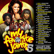 My Favorite Joints Vol 5 Old School Mix Edition Mixtape CD