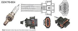 NGK NTK Oxygen Lambda Sensor OZA770-EE4 fits Holden Adventra VZ 3.6 V6 AWD
