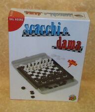 GIOCO IN SCATOLA SCACCHI E DAMA MAGNETICA Dal Negro cod.18229