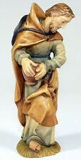 Anri-personaggio legno personaggio MANGIATOIA Natale mangiatoia padre Josef-ITALY ITALIA