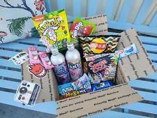 International Exotic Soda & Snacks in a Trap Box