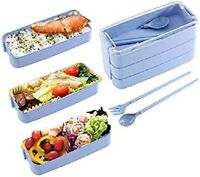 Three-tier Bento Box Lunch Box for Kids Leak-Proof Food Storage Container