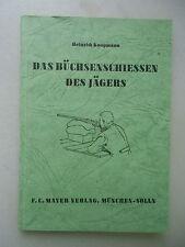 Das Büchsenschiessen des Jägers 1960 Jagen Schießen Jagd