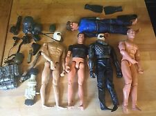 12 inch GI JOE Action Man Figures and Accessories Lot Storm Shadow Cobra
