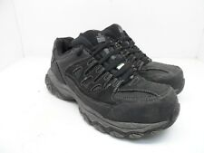 SKECHERS WORK Men's Steel Toe Composite Plate Work Athletic Shoes Black 8.5M