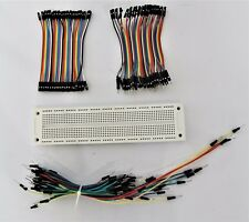 Female to Female+ Female to Male+ Male Jumper Wires +Breadboard for Arduino Kit