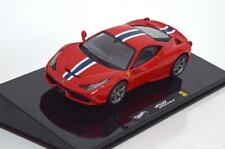 1:43 Hot Wheels Elite Ferrari 458 Speciale Coupe 2013 red