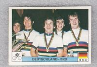 Sticker cycling West Germany team Olympic games Montreal 1976 Panini Dec Novine