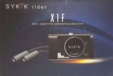 "Sykik X1F Motorcycle Bike Action Set 2 x HD 1080P Video Cameras & DVR 3"" LCD ™"