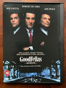 Goodfellas DVD 1990 Scorsese True Life Gangster Crime Classic in Snapper Case
