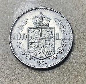 Romania 1936 coin - 100 Lei