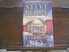 THE JEFFERSON KEY #7, Steve Berry, SIGNED 1st ed/1st printing 2011 HCDJ