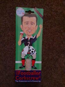 World Cup 1998 Scotland John Collins Footballer Corkscrew special edition