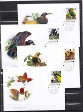 Papua New Guinea 2013 - FDC - Vogels / Birds  (WWF/WNF)