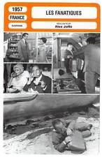FICHE CINEMA : LES FANATIQUES - Fresnay,Fabian,Joffé 1957 The Fanatics