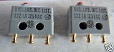 Micro Switch1 Polo cambio más 1a 125 V Minature 1pc