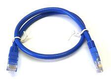 BLUE Comlynx 1m Cat6 RJ45 Patch Ethernet Network LAN Internet Cable GIGABIT