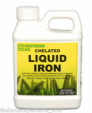Chelated Liquid Iron 16 oz. Pint Southern Ag