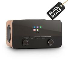 Radio DAB+ Digital Retro Internet Spotify Cadena Musical FM MP3 WLAN Wifi Madera