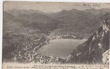 Panorama di Lugano dal Monte S Salvatore 1905 Postcard 445a