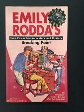 Emily Rodda ~ Teen Power Inc. ~ Breaking Point ~ PB ~ AC ~ free post