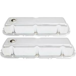 Spectre 5250 Chrome Valve Covers, Ford/Mercury 260-351, Lincoln 5.0L