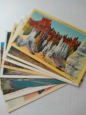 8 Utah & Colorado Postcards Linen & Paper Unused Post Cards Ephemera Collectible