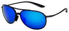 Maui Jim Alelele Bridge Sunglasses B438-03M Matte Blue | Blue Hawaii Polarized