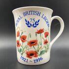 Vintage 1996 Royal British Legion 75th Anniversary 1921-1996 Fine Bone China Mug