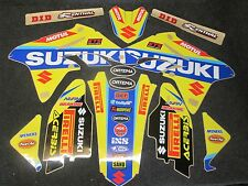 Suzuki RMZ250 2010-2017 Rockstar Factory MXGP team graphics + plastic kit GR1011